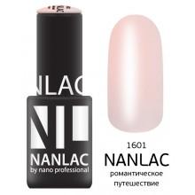 nano professional NANLAC - Гель-лак камуфлирующий NL 1601 романтическое путешествие 6мл