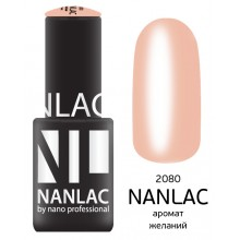 nano professional NANLAC - Гель-лак камуфлирующий NL 2080 аромат желаний 6мл