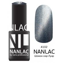 nano professional NANLAC - Гель-лак кошачий взгляд NL 4102 Шомон-сюр-Луар 6мл