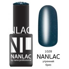 nano professional NANLAC - Гель-лак Мерцающая эмаль NL 1028 утренний бриз 6мл