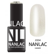 nano professional NANLAC - Гель-лак Мерцающая эмаль NL 2004 камея 6мл