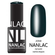 nano professional NANLAC - Гель-лак Мерцающая эмаль NL 2058 лучшее напоследок 6мл