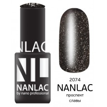 nano professional NANLAC - Гель-лак Мерцающая эмаль NL 2074 проспект славы 6мл
