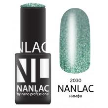 nano professional NANLAC - Гель-лак Металлик NL 2030 нимфа 6мл