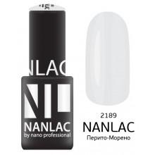 nano professional NANLAC - Гель-лак NL 2189 Порито-Морено 6мл