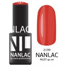nano professional NANLAC - Гель-лак NL 2199 MUST go on 15мл