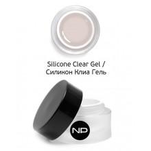 nano professional Silicone Clear Gel - Гель укрепляющий 15мл