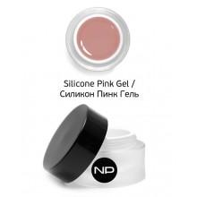 nano professional Silicone Pink Gel - Гель укрепляющий камуфлирующий 15мл