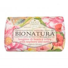 NESTI DANTE BIONATURA Wild Raspberry & Nettle - Мыло Малина и Крапива (очищение и расслабление) 250мл