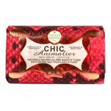 NESTI DANTE CHIC ANIMALIER Red Python - Мыло Розовый Питон (очищение и расслабление) 250мл