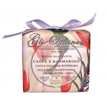 NESTI DANTE GLI OFFICINALI Calla Lily & Rosemary - Мыло Калла и Розмарин (увлажнение и питание) 200мл