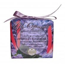NESTI DANTE GLI OFFICINALI Hydrangea & Rhubarb - Мыло Гортензия и Ревень (увлажняющее и успокаивающее) 200мл