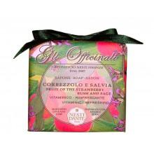 NESTI DANTE GLI OFFICINALI Strawberry Tree & Sage - Мыло Клубника и Шалфей (увлажняющее и успокаивающее) 200мл