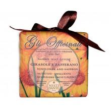 NESTI DANTE GLI OFFICINALI Sun-Flower & Saffron - Мыло Подсолнух и Шафран (успокаивает и балансирует) 200мл