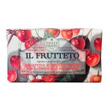 NESTI DANTE IL FRUTTETO Black Cherry & Red Berries - Мыло Черешня и Красные Ягоды 250гр