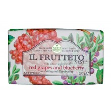 NESTI DANTE IL FRUTTETO Red grapes & Blueberry - Мыло Красный Виноград и Голубика 250гр