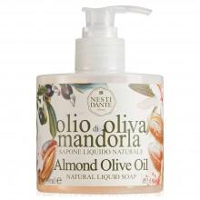 NESTI DANTE ORGANIC Liqud Soup Almond oOlive Oil - Мыло Жидкое с Миндалем и Оливковым Маслом 300мл