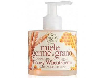 NESTI DANTE ORGANIC Liquid Soup Honey Wheat Germ - Мыло Жидкое с Мёдом и Зародышами Пшеницы 300мл