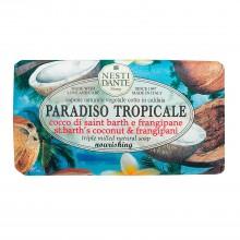 NESTI DANTE PARADISO TROPICALE St. Bath Coconut & Frangipane - Мыло Кокос и Франжипани (очищение и увлажнение) 250мл