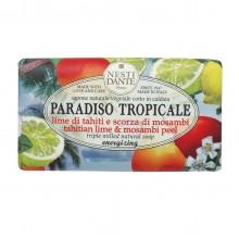 NESTI DANTE PARADISO TROPICALE Tahitian Lime & Mosambi Peel - Мыло Лайм и Мангустин (очищение и питание) 250мл