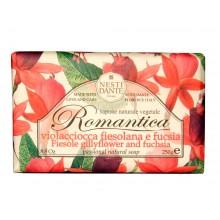 NESTI DANTE ROMANTICA Fiesole Gillyflower & Fuchsia - Мыло Ароматы Фиезоле и Фуксия 250мл