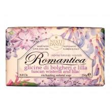 NESTI DANTE ROMANTICA Tuscan Wisteria & lilac - Мыло Тосканская Глициния и Сирень 250мл