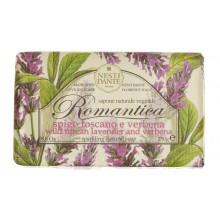 NESTI DANTE ROMANTICA Wild Tuscan Lavender & Verbena - Мыло Дикая Тосканская Лаванда и Вербена 250мл