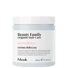 Nook Beauty Family Avena & Riso Crema - Крем-кондиционер успокаивающий для ломких и тонких волос 250мл