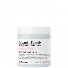 Nook Beauty Family Avena & Riso Crema - Крем-кондиционер успокаивающий для ломких и тонких волос 75мл