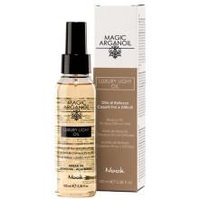 """Nook MAGIC ARGANOIL LUXURY LIGHT OIL - Люкс-Масло для тонких и непослушных волос """"Магия Арганы"""" 100мл"""