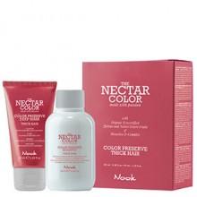 Nook THE NECTAR COLOR PRESERVE KIT THICK - Маска + Шампунь для ухода за окрашенными ПЛОТНЫМИ волосами 50 + 100мл