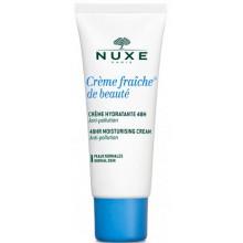 NUXE Crème Fraiche de Beaute CREME HYDRATANTE 48H - Крем для лица Увлажняющий 48 часов 30мл
