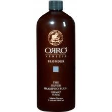 ORRO BLONDER Silver Shampoo Plus - Серебряный шампунь плюс для светлых волос 1000мл