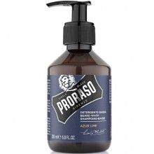 Proraso Azur Lime Beard Wash - Шампунь для бороды 200мл