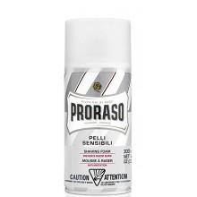 PRORASO WHITE SHAVING FOAM - Пена для бритья БЕЛАЯ 300мл