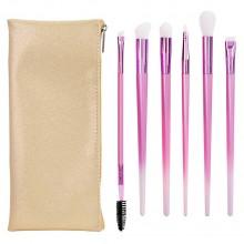 Real Techniques Cashmere Dreams Eye Fantasy Kit - Набор для макияжа глаз Розовый 6шт