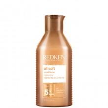 Redken all soft conditioner - Кондиционер для питания и смягчения волос 300мл