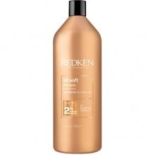 Redken all soft shampoo - Шампунь для питания и смягчения волос 1000мл
