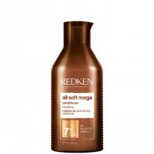 Redken all soft mega Conditioner - Кондиционер для питания очень сухих и ломких волос 300мл
