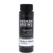 REDKEN BREWS Color Camo Medium Natural - Камуфляж седины 5N СРЕДНИЙ НАТУРАЛЬНЫЙ 60мл