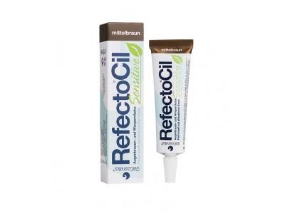 RefectoCil SENSITIVE Краска для бровей и ресниц - коричневая 15 мл