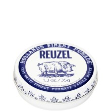 REUZEL Clay Matte Pomade WHITE - Матовая глина для укладки волос БЕЛАЯ банка 35гр