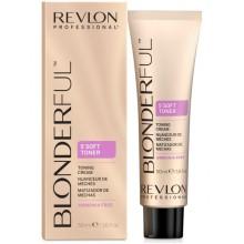Revlon Professional Blonderful 5`Soft Toner - 5-минутный тонирующий крем 10.01 Экстра Светлый натуральный Пепельный Блондин 50мл