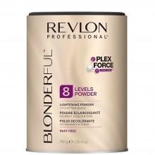 Revlon Professional Blonderful 8 Lightening Powder - Нелетучая Осветляющая пудра для волос 8, 750гр