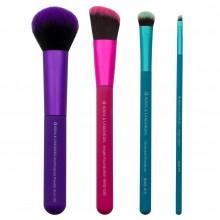 Royal & Langnickel MODA COMPLETE KIT - Набор кистей для макияжа в чехле 4шт