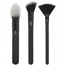Royal & Langnickel MODA PRO FINISHING KIT - Набор кистей для макияжа в чехле 3шт