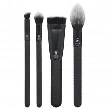 Royal & Langnickel MODA PRO SCULPT & GLOW - Набор кистей для макияжа в чехле 4шт
