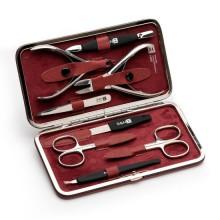 S & N - Маникюрный набор Многофункциональный Красный 8 предметов