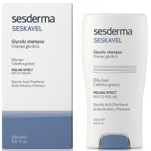 Sesderma SESKAVEL Glycolic shampoo - Шампунь с гликолевой кислотой 200мл
