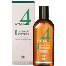 Sim SENSITIVE SYSTEM 4 Climbazole Shampoo 1 - Шампунь №1 для нормальной и жирной кожи головы 215мл